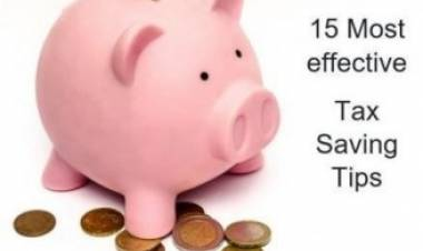 15 Most Effective Tax Saving Tips For Entrepreneurs