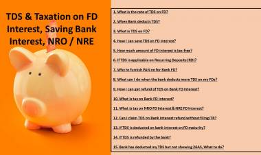 FAQ on TDS on Bank FD & Income tax