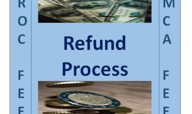 Refund process at MCA......