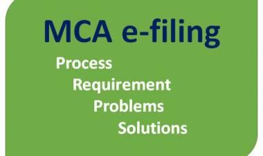 MCA e-filing