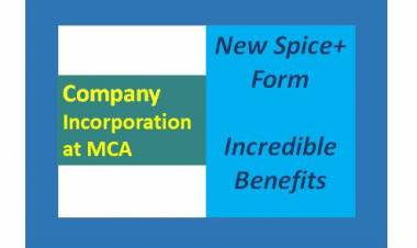 NEW SPICE+ FORM FOR REGISTRATION OF COMPANY - INCREDIBLE BENEFITS