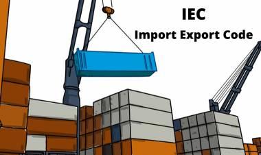 Import Export Code  - IEC