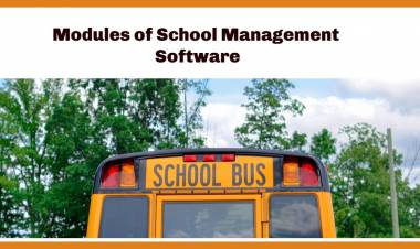 Always Check 10 important Modules of School Management Softwares