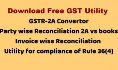 GST UTILITY - very useful for Professionals / Businessmen and students