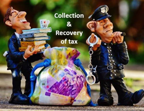 Collection and Recovery provisions -  Income Tax