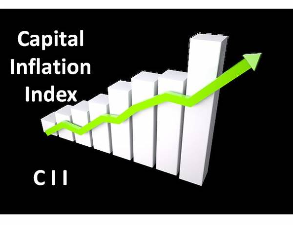 Cost Inflation Index (CII) in Capital Gain