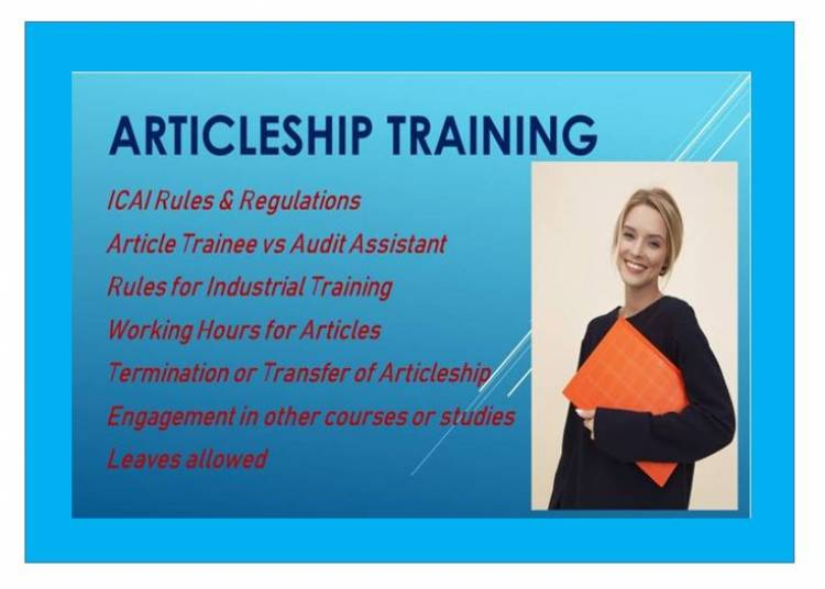 Articleship Training Icai Norms Guidelines Summary Profzilla